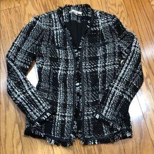 Boston Proper Tweed Jacket NWT